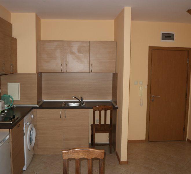 Едностаен апартамент Слънчев Браг кухня