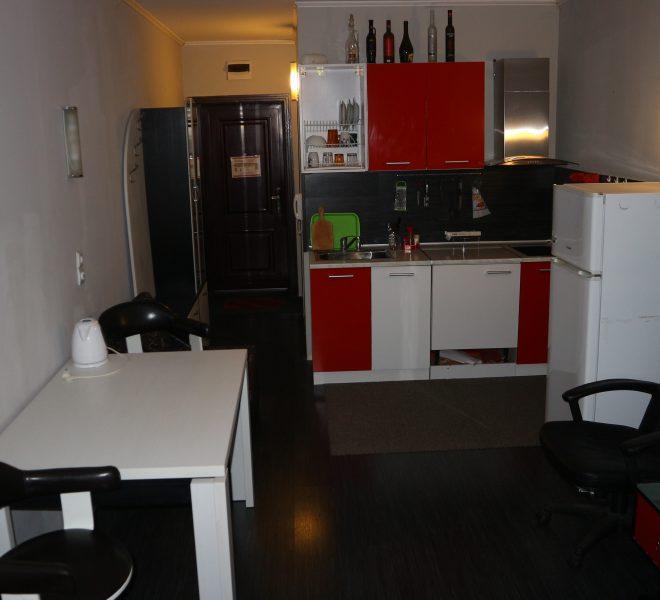Едностаен апартамент Слънчев Бряг кухня