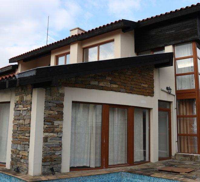 Къща с комин