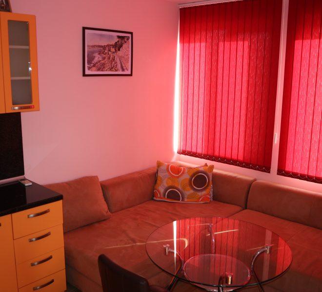 Двустаен апартамент в Несебър всекидневна