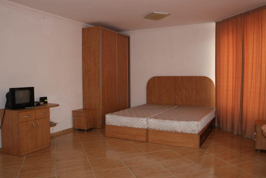 Двустаен апартамент в Свети Влас с частична гледка море спалня