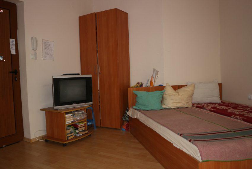 Едностаен апартамент в Слънчев Бряг спалня всекидневна студио