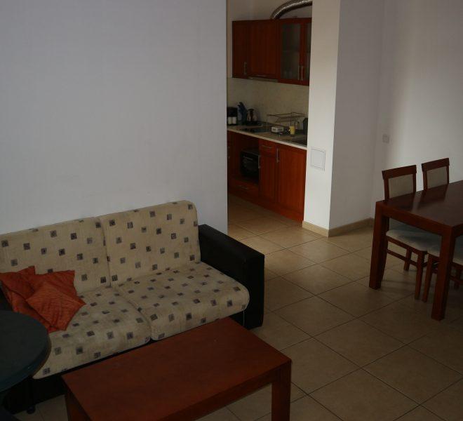 двуспален апартамен в Слънчев Бряг всекидневна